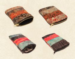 Patterned Pouches by Madelei