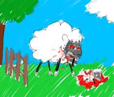 Counting Sheep by twitcher