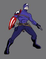 Project Rooftop:  Bucky Barnes by Heroid
