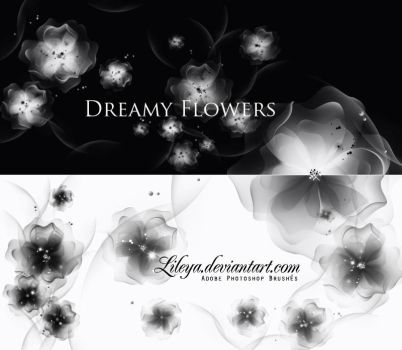 Dreamy Flowers by Lileya