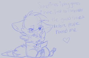 this is too fluffy to be a vent lol by MystikMeep