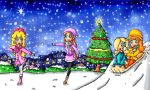 christmas winter fun by babyblisblink