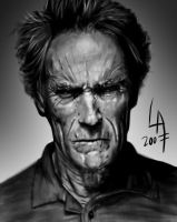 'Clint Eastwood' by pichulin
