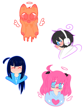 Oc Doodles by NyannChan