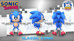 25th Aniversey Classic Sonic Turn-Around by Nibroc-Rock
