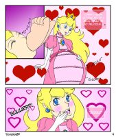 Peach eats Pauline Pg. 4 by Kimeria87 by RavenHunter42