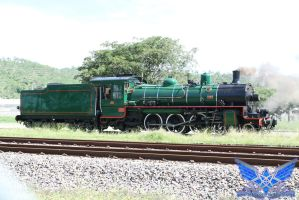 Old Steam Train by BoboMagroto
