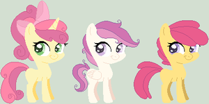 CLOSED -  CMC Shipping Adoptables by sarahmfighter