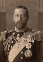 Vintage royal King George V by MementoMori-stock