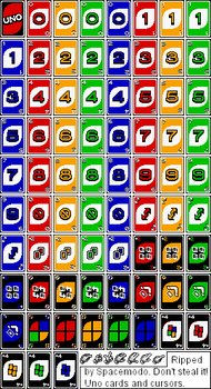 Uno Cards and Cursors by SpaceModo