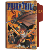 fairy Tail Tome 8 Folder by sostomate9