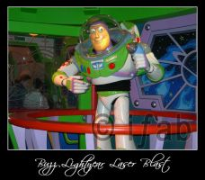 Buzz Lightyear Laser Blast by iFab