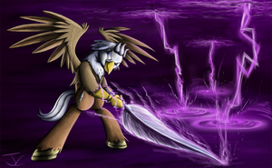 Fanart - MLP. The Quill is Stronger by jamescorck