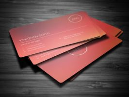Blurred Corporate Business Card by nazdrag