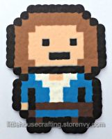 River Song Full Body Perler (Doctor Who) by LittleHouseCrafting