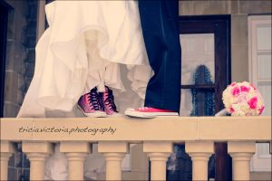 The Converse Bride. by triciavictoria