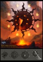 RIFT Fire Colossus by Vaejoun