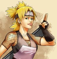 Temari: Pretty yet Serious Kunoichi by JuPMod
