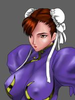 Chun li two by yamcharevenge