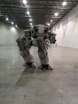 ED-209 in the Warehouse by thorssoli