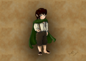 Lord of the Rings: Frodo the Ringbearer by SimplyCookie