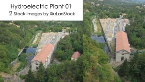 Hydroelectric Plant 01 by XiuLanStock