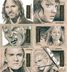 Lord of the Rings cards 7 by sarahwilkinson