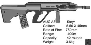 Steyr AUG A3 by cashel111