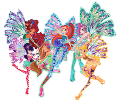Winx official Sirenix by Dessindu43