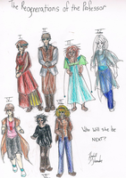 DW- the Professor's Incarnations by KendallNS