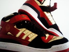 Adidas originals hellboy by mirerror