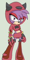 Jordis The Hedgehog - I'm about to cut the cord... by MephistaTheDark