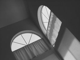 Light Through Arched Windows by naca0012