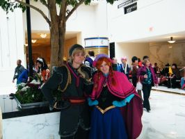 Frozen Cosplays At Katsucon 20 by grantjoey45