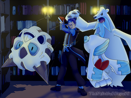 JS: No fighting in the goddamn Library by TheNekoHufflepuff