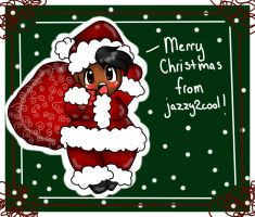 Merry Christmas from jazzy2cool by BrownieTheif