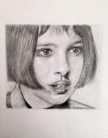 Portrait of a young woman by TheDreadfulPencil