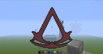 Assassin's Creed Logo Minecraft by slygirl1999