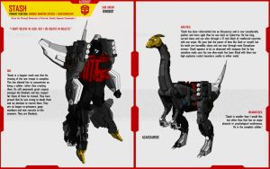 DINOBOT STASH by F-for-feasant-design