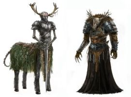 Creature concepts 3 by MDA-art