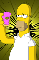 Homer Simpson - Quick Shade by RACROX