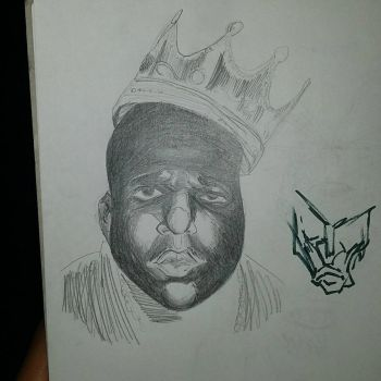 Notorious B.I.G by Paulie-da-artist