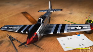 P51 Mustang color by 3DFreak3D