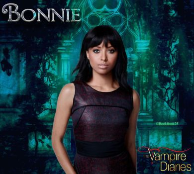 Bonnie Bennett The Vampire Diaries by Bookfreak25