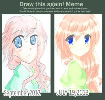 Draw this again meme! by lummina