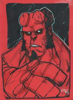 Hellboy by DenisM79