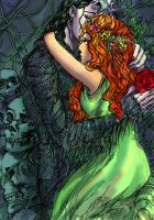 Hades and Persephone by pebbled