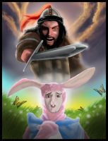 Epic Rap battles: Gangis Kahn Vs. Easter Bunny by SemajZ