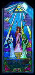Sacred Hyrule Stained Glass by Lydween