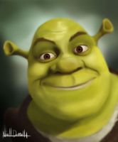 Shrek by The-Avenged-Evil